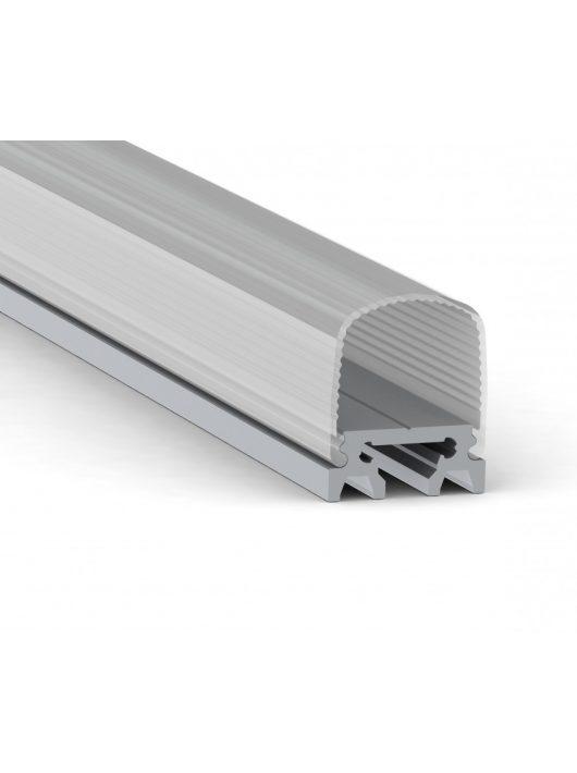 Alumínium LED 180°-os profil - 200cm